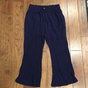 Esley linen pants navy blue size medium